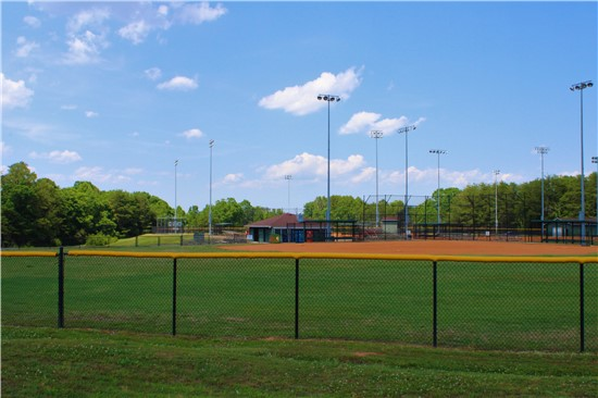 An image of the baseball fields