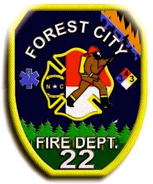 Forest City Fire Department Shield