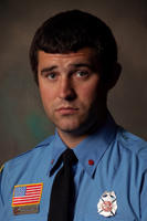 Firefighter Clint Goforth