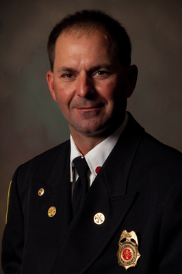 Fire Chief Ferrell Hamrick